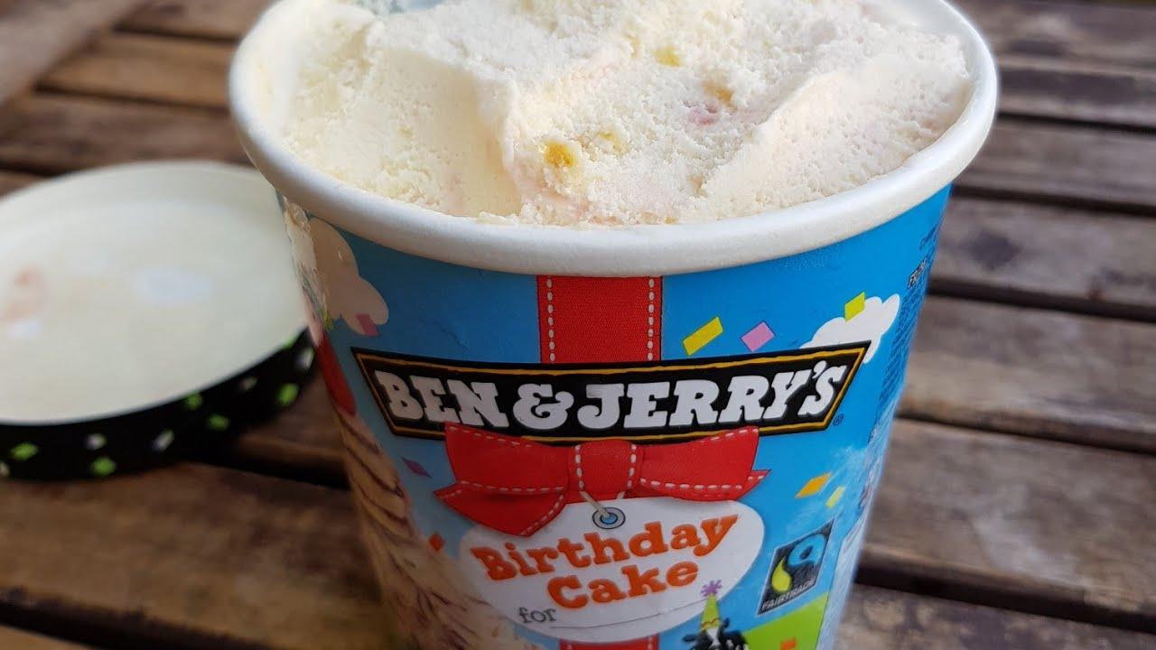 Ben Jerry S Birthday Cake Test 2 0 Youtube