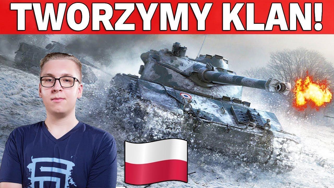 TWORZYMY KLAN i Nowe Mapy w HD – World of Tanks