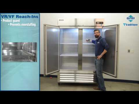 Volition VR/VF Series Commercial Reach-In Refrigerators And Freezers Features