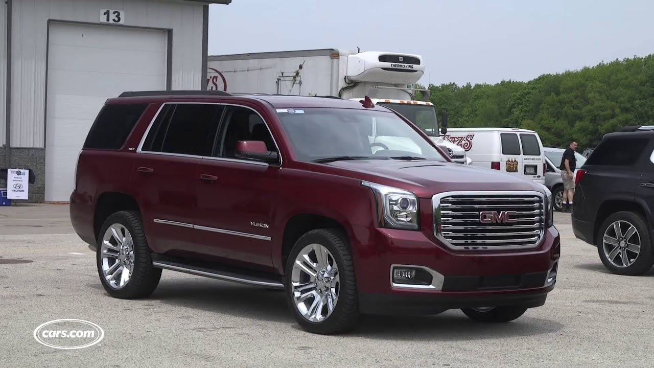 2016 GMC Yukon SLT Premium Edition   First Look   YouTube