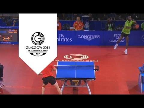 Incredible 41 shot rally - Men's Singles Table Tennis   Unmissable Moments