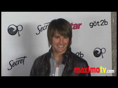 James Maslow, Chrishell Stause Attend 'Star Magazine 2010 Young Hollywood