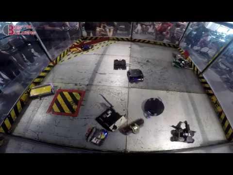 BBB3: Beetleweight Whiteboards & Battle Royale Robot Fighting  - Bristol Bot Builders