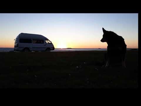 Sunrise at Lake Point (Falkland Islands)