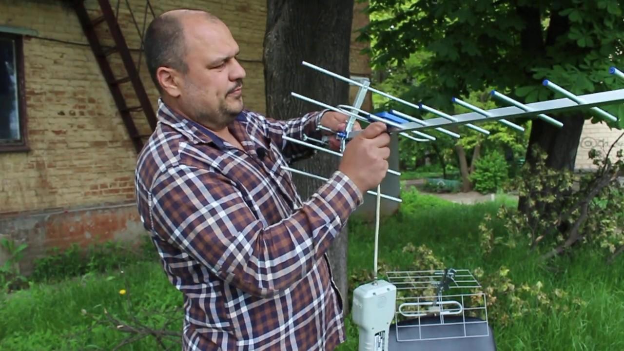 Тест антенн Т2. Eurosky МИР-19 против ЭНЕРГИЯ 1.0М