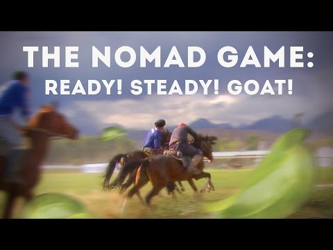 Kok Boru Brutal Sport Game In Kyrgyzstan Played With A Dead Goat. Ready Steady Goat Documentary