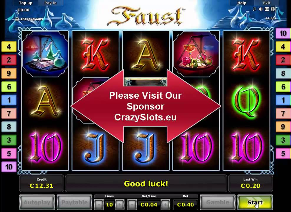 Faust Free Slots