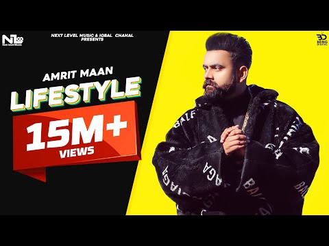 Lifestyle (Full Video) Amrit Maan Ft Gurlej Akhtar- Latest Punjabi Songs 2020-New Punjabi Songs 2020