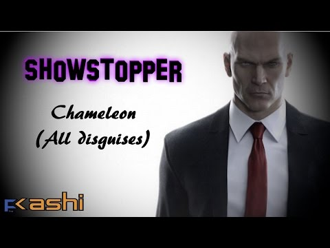 Hitman Showstopper Chameleon Challenge All Disguises In A Single Run Youtube