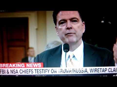 NSA & FBI Chiefs Testify on Trump/Russia, Wiretap Claims