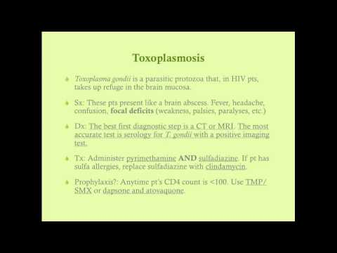Opportunistic Infection in HIV/AIDS - CRASH! Medical Review Series
