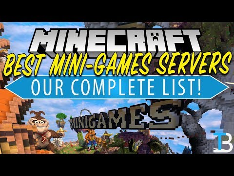 Top 5 Best Minecraft Mini-Games Servers