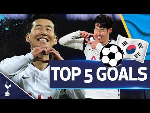 Heung-Min Son's TOP FIVE Premier League goals!