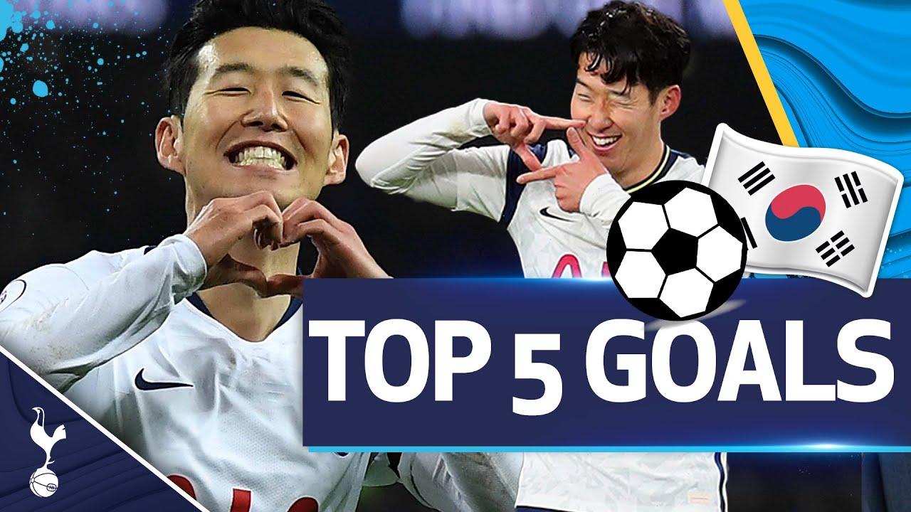Download Heung-Min Son's TOP FIVE Premier League goals!