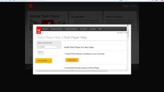 How to download Adobe Flash Player 12 Directly to your computer