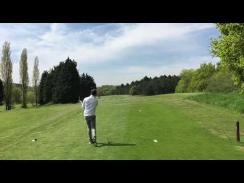 New 4th hole par 5 at Trent Park Golf Club