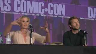 Katee Sackhoff & Jamie Bamber (BSG) Panel - Fan Days 2013 - Dallas Comic Con 2013 - Highlights