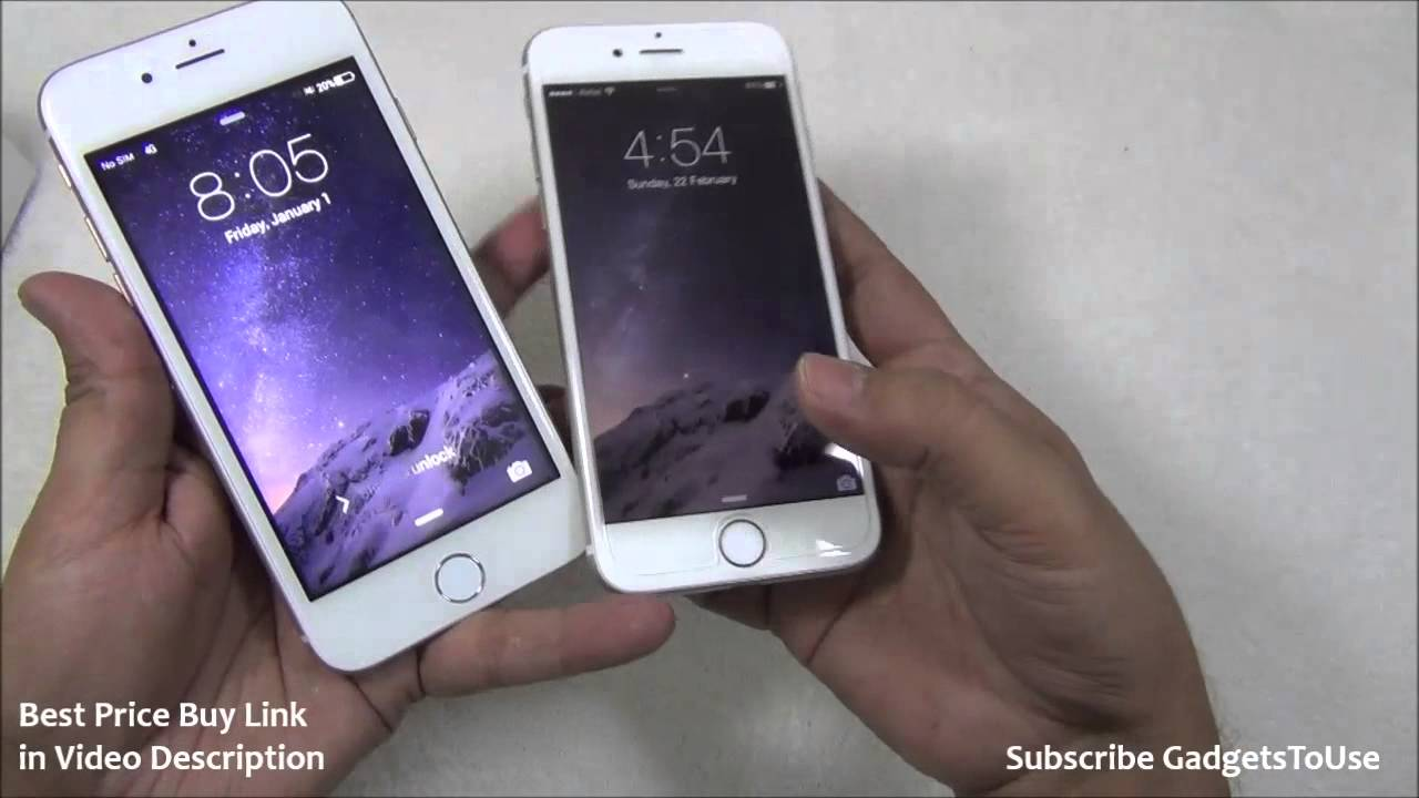 Fake iPhone 6 VS Real Orignal iPhone 6, Differences, Build