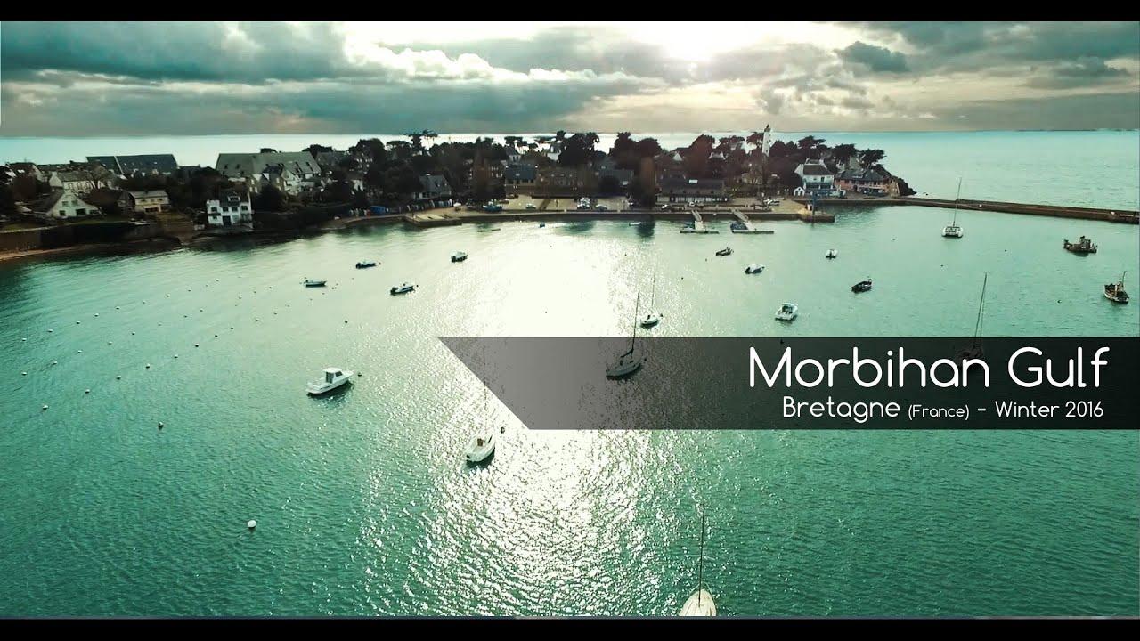 Drone sur le golfe du Morbihan Arzon Le Crouesty Bretagne 03