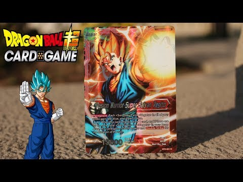 [UPDATE]*DBS CARD GAME* ASTONISHING Vegito Deck
