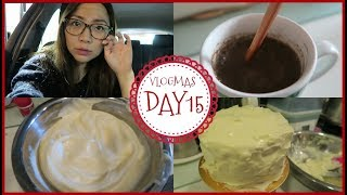 Baking cake & Kid friendly restaurant | VLOGMAS Day 15