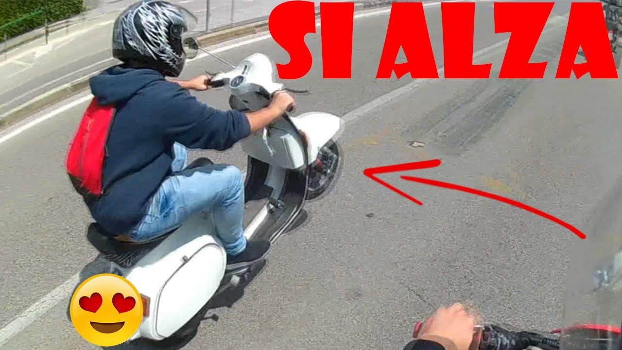 Ignoranza Per Strada E Idioti Patentati W Honda Cr 125