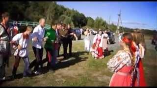 """Руская народная игра """"Челнок"""""""