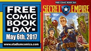 Unboxing Free Comic Book Day 2017 at Stadium Comics - See all the FREE books here! FCBD