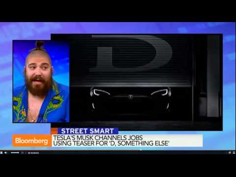 The Fat Jew on Bloomberg Television (again)