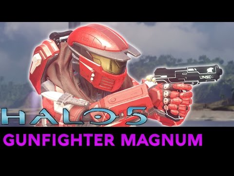 Halo 5: Guardians - Ultra Rare Weapon Showcase - Gunfighter Magnum