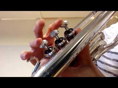 Esbjörns boogie - trumpet kornett - övningshjälp
