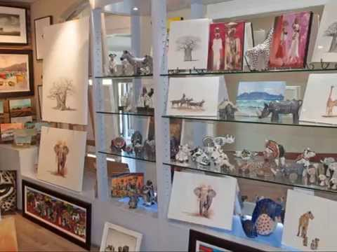 Alfred Mall Art Gallery | V&A Waterfront, Cape Town, South Africa