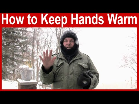 How to Keep Hands Warm in Cold Weather
