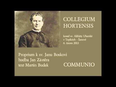 Proprium k sv. Janu Boskovi: Communio