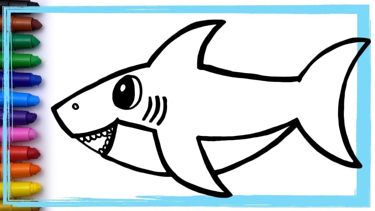Baby Shark Do Do Do Painting Boyama Youtube