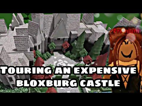 Touring an expensive bloxburg castle