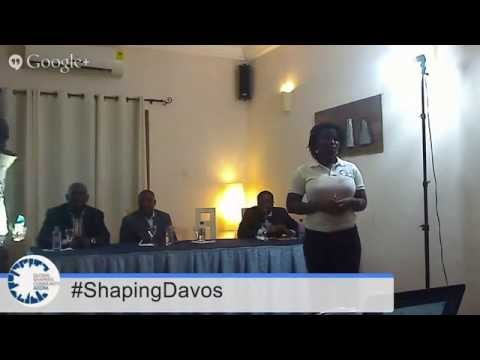 #ShapingDavos in Accra