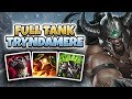 FULL TANK TRYNDAMERE! UNSTOPABLE SPLITPUSH MACHINE!! - League of Legends Full Gameplay