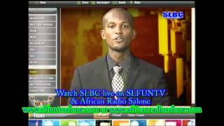 Watch SLBC LIVE ON S.L.FUN.TV SALONE & African Radio Salone