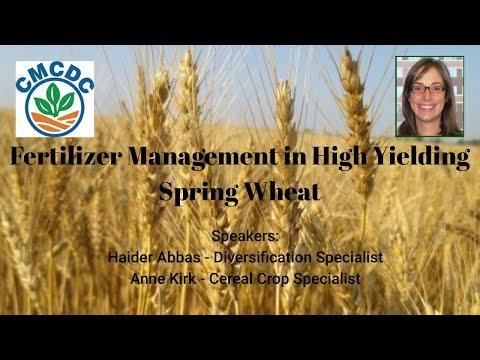 Nitrogen Management in