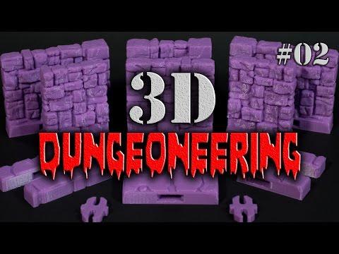 3DD #02 - Choosing a Modular System - 3D Dungeoneering