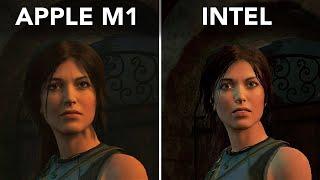 "MacBook Pro 13"" M1 vs MacBook Pro 13"" Intel - Gaming performance"