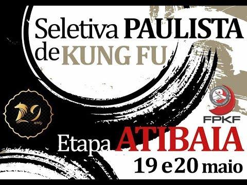 2˚ Seletiva Regional Paulista de Kung Fu 2018 - Atibaia | LUTAS