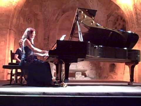 Emile Naoumoff's own Valse Strette for piano four hands played with Rebecca Chaillot