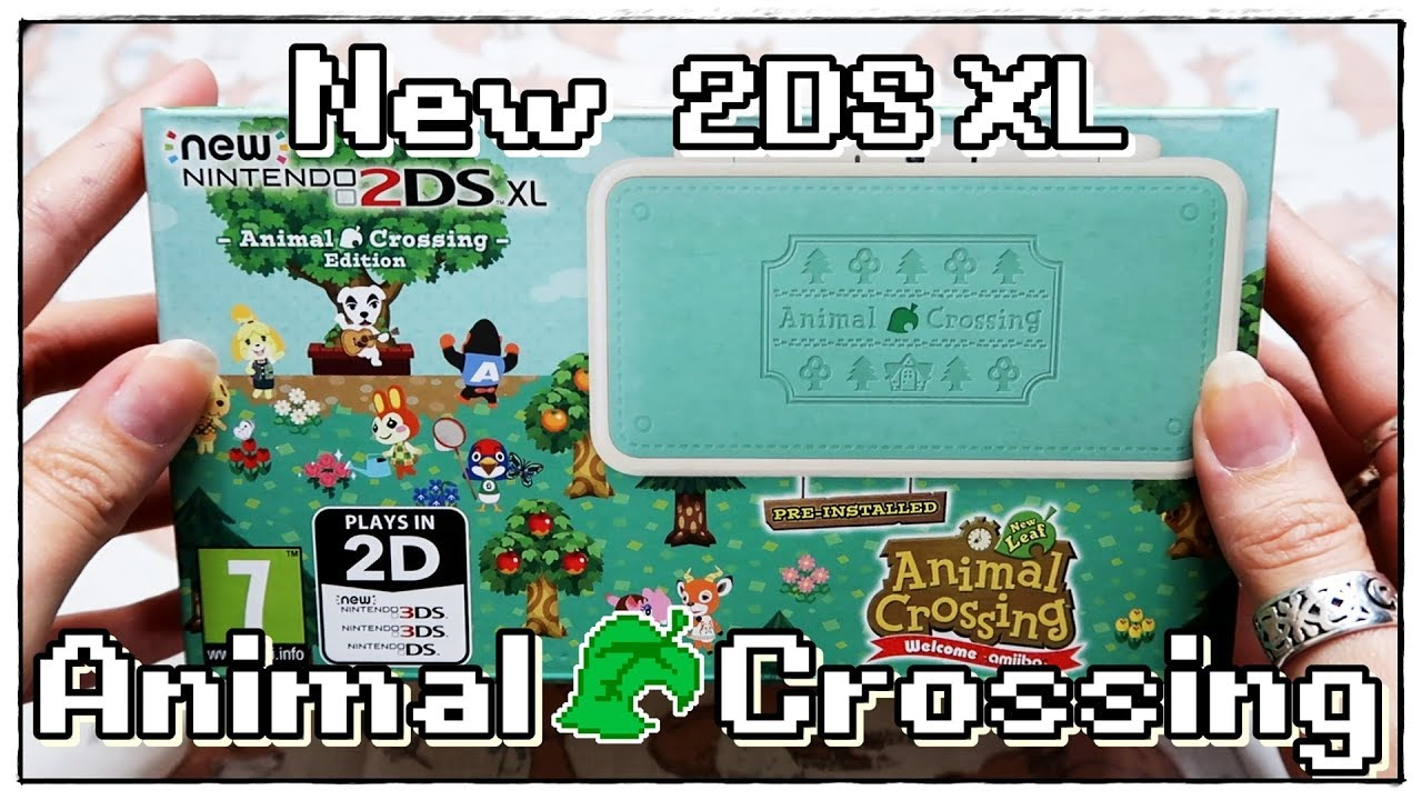 •✦NEW Animal Crossing 2DS XL Unboxing ✦•   ✨  