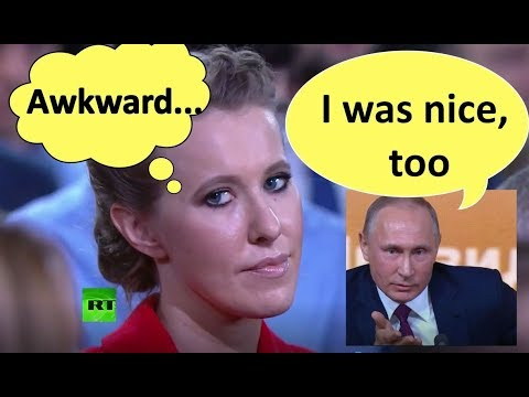 Putin diplomatically destroys opposition live on air