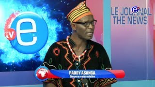 THE 6PM NEWS (Guest: Paddy ASANGA) WEDNESDAY 16th OCTOBER 2019 - EQUINOXE TV