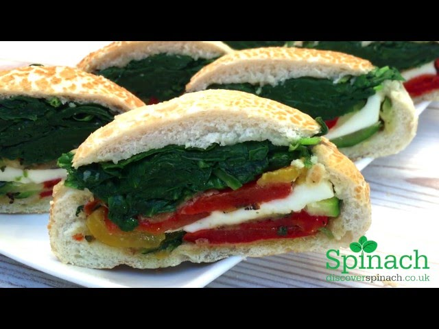 Video Recipe for Spinach Rolls