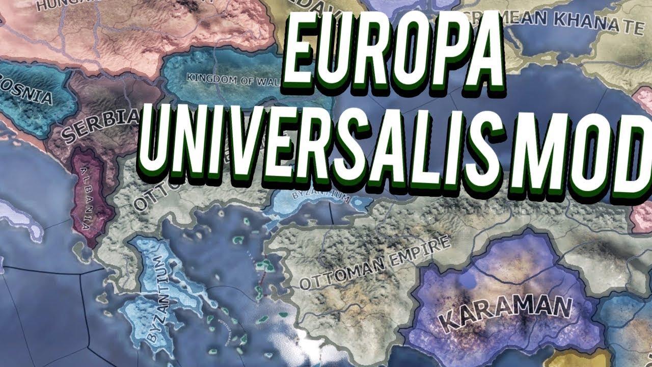 EUROPA UNIVERSALIS 4 IN HEARTS OF IRON 4 HOI4 MOD