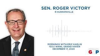 Sen. Victory joins Mornings with Eric Kaelin to talk year-end legislation